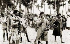 Warriors of the Emperor Haile Selassie of Ethiopia, Second Italo-Abyssinian War, 1935. This Day in History: May 9, 1936 Italy formally annexes Ethiopia after taking the capital Addis Ababa on May 5 http://dingeengoete.blogspot.com/