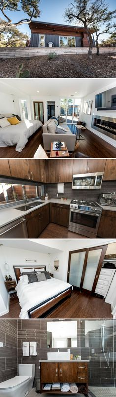 A cool and contemporary shipping container home