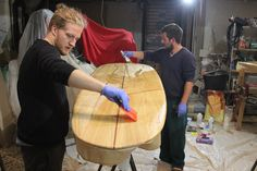 ARBO Surfboards newquay workshop august 2015