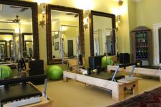 Pilates Studio of Ridgeland - obsessed with these reformers!! -Carrie Bradshaw Lied