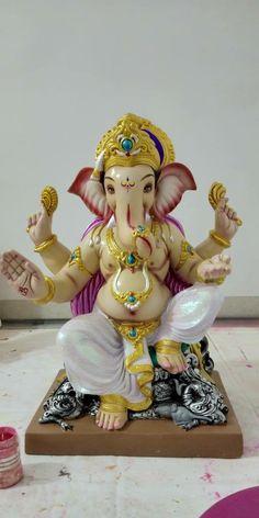 Ganesh Lord, Sri Ganesh, Lord Krishna, Shiva, Clay Ganesha, Ganesha Art, Ganesh Bhagwan, Dancing Ganesha, Ganesh Chaturthi Images