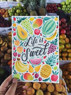 """nophotosplz: """" Cusco's street markets have some of the sweetest fruits I've ever tasted! I picked up three pomegranates, two mangos, three bananas and an avocado for $5 this morning. What a dream! """" I'm not lying anymore, and life really is sweet!..."""