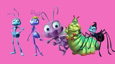 A Bug's Life finger family song | children songs | English rhymes for kids