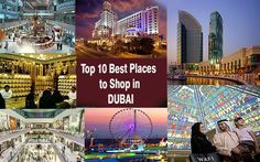 Find a list of Top 10 Places to Shop in Dubai - you must visit attractions and Enjoy Shopping there at best and cheap rates. http://goo.gl/3abAAV