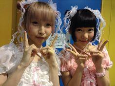 Younapi (Yonapi) / ようなぴ of You'll Melt More! / Yurumerumo! / ゆるめるモ! and Rinahamu / 苺りなはむ
