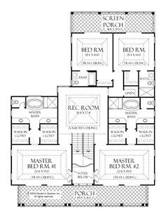 21 Best Master suite floor plan images | Master suite floor ... Ranch House Plan Dual Master Suites on double mastersuite plans, luxury master bedroom floor plans, double master house plans, dual view house plans, double split master floor plans, dual garage house plans, dual master floor plans two-story, dual living house plans, dual family house plans, dual master suite home, master suite floor plans, dual master bath house plans, bathrooms with dual master floor plans, 3 master suites house plans,