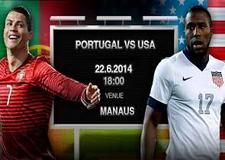 USA vs Portugal World Cup Soccer live streaming HD TV Watch Portugal vs USA World Cup Soccer live online free video match in here. Anyone can enjoy Cristiano Ronaldo free football fighting match against USA.