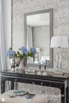 hooker furniture sanctuary landscape mirror in dune foyer