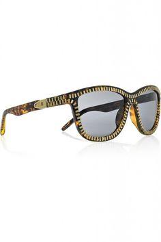 Alexander Wang Zip-Detailed Acetate Sunglasses #GOWS #platinumlist #weddingstyle #graceormonde #luxuryweddings