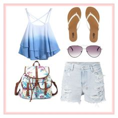 #summer ❤️ by marielovexx on Polyvore featuring polyvore, fashion, style, Ksubi, Charlotte Russe and BCBGMAXAZRIA