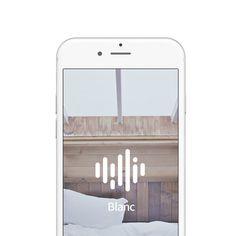 White noise & ASMR Application : Blanc