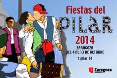 GASTRONOMÍA EN ZARAGOZA: Programa Fiestas del Pilar 2014