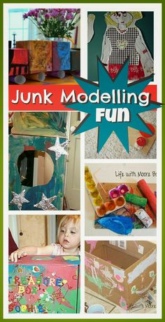 junk modelling 1512 pixels activities imagination houses classroom craft children daycare