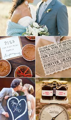 Show thanks to your loved ones with these Thanksgiving wedding ideas!