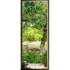Vinilo Para Puerta Jardin Invierno Leroy Merlin Acuarelas