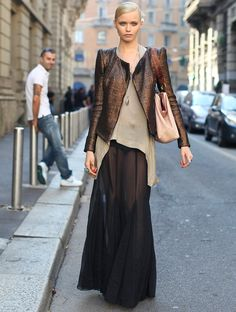 Ask Lauren: How to Style a Maxi Skirt for Fall