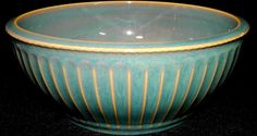 Coventry PARTHENON Green Round Vegetable Serving Bowl pts international Stoneware, All Green, Ribbed Lines on Rim, Excellent Condition 9 1/8 by libertyhallgirl on Etsy $29.99