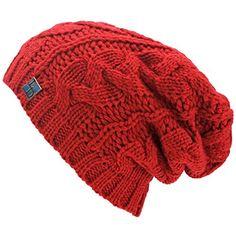 Luxury Divas Red Oversized Slouchy Cable Knit Unisex Beanie Cap Hat Luxury Divas http://www.amazon.com/dp/B00OPEBQYQ/ref=cm_sw_r_pi_dp_7KCIub0QQK5TR