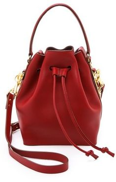 Sophie Hulme Small Drawstring Bucket Bag on shopstyle.com