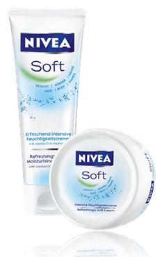 "Nivea soft face cream. Great advice given to me by my mother (who is in her early 50's and hardly has any wrinkles): ""Moisturize your face everyday, Cheety!"""
