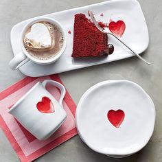 Valentine's Day dessert set