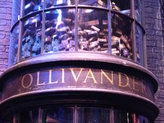 ollivanders sign Harry Potter Studios, Miniatures, Classroom, Sign, Party, Class Room, Fiesta Party, Signs, Mockup