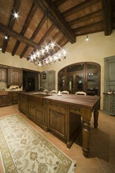 Reclaimed Cabinetry...love it!