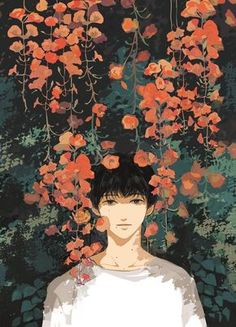 Uploaded by Wendy. Find images and videos about art, anime and flowers on We Heart It - the app to get lost in what you love. Art And Illustration, Aesthetic Art, Aesthetic Anime, Manga Art, Anime Art, Character Art, Character Design, Anime Kunst, Arte Pop