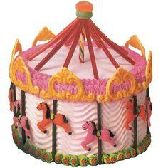 Enchanted Carousel Cake
