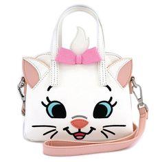 Loungefly x Disney Marie Micro Dome Crossbody Bag Disney Handbags, Cute Handbags, Cheap Handbags, Purses And Handbags, Backpack Handbags, Ladies Handbags, Canvas Handbags, Mini Handbags, Crochet Handbags