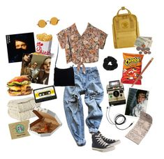 """road trip"" by nadyaarw ❤ liked on Polyvore featuring Levi's, Motel, Converse, Hakusan, NOVICA, Fjällräven, Miss Selfridge, Zens Lifestyle, Polaroid and OUTRAGE"