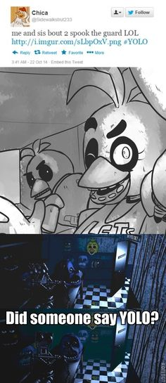 He heard YOLO. Run for your lives by kinginbros2011 on deviantART HOLY CRAP!!!