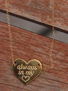 Gold Always in My Heart
