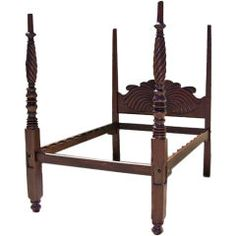 Wonderful Mahogany West Indies Bed.