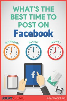 What's The Best Time To Post On Facebook? via @kimgarst