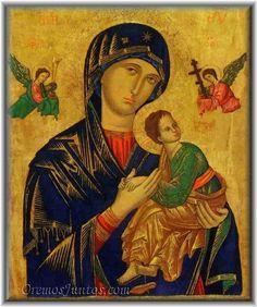 Vidas Santas: Nuestra Señora del Perpetuo Socorro, Advocación Ma...