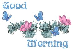 Animated Good Morning | good morning butterfly Image