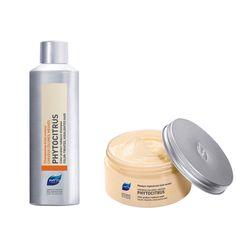 Χάρισε λάμψη και ζωντάνια στα βαμμένα σου μαλλιά! Ο συνδυασμός του σαμπουάν PHYTOCITRUS και της μάσκας αναγέννησης χρώματος PHYTOCITRUS θα προσφέρει στα βαμμένα σου μαλλιά μοναδική θρέψη, λάμψη και ζωντάνια, χάρη στην υψηλή περιεκτικότητά τους σε αναδομητικά φυτικά έλαια. Phyto Paris, Shampoo, Personal Care, Bottle, Beauty, Hair, Personal Hygiene, Flask, Jars