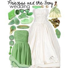 Princess and the Frog Wedding by aussieladdie on Polyvore