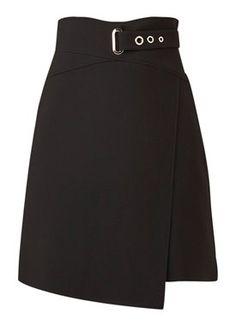 Karen Millen Asymmetrische A-lijn rok met gespdetail. #rokken #rok #skirt #skirts #fashion #mode Kpop Fashion Outfits, Stage Outfits, Skirt Outfits, Star Fashion, Cute Outfits, Girl Fashion, Karen Millen, Cute Skirts, Mini Skirts