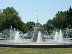 Ward Parkway: Kansas City, Missouri The Seahorse Fountain, located at Ward Parkway and Meyer Boulevard. The latter right-of-way was named after Kansas City's park and boulevard system pioneer August Meyer.