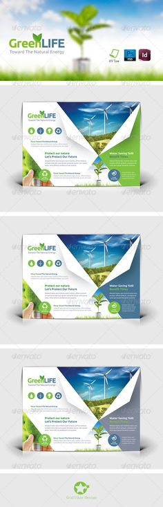 Green Energy Flyer PSD Template | Buy and Download: http://graphicriver.net/item/green-energy-flyer-templates/8342913?WT.ac=category_thumb&WT.z_author=grafilker&ref=ksioks