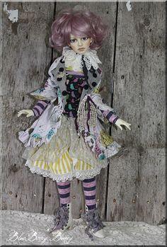 ~Parisian Sonnet~Wiggs Lasher Dollstown OOAK SD BJD  Outfit by BB*Bunny