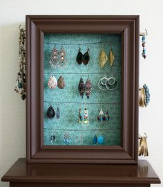 Jewelry Holder from Old Drawer