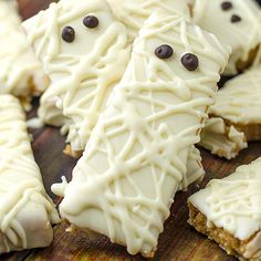 Peanut Butter Mummy No Bake - Featured Image