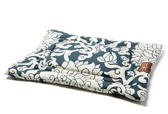 My Simon is going to LOVE this doggy bed :)   Chelsea Cozy Mat, Steel Blue on OneKingsLane.com