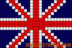 Union Jack / British flag chart