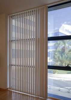 Completely open? Half way? You have the control of your window treatments