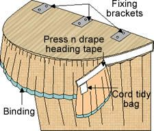 coronet bed drapes   Coronet Bed Drape   Bedding   Alternative Windows - Free Instructions ...