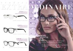 @jimmycrystalny catalog selections. Fabulous and glamorous glasses! #glasses #spectacles